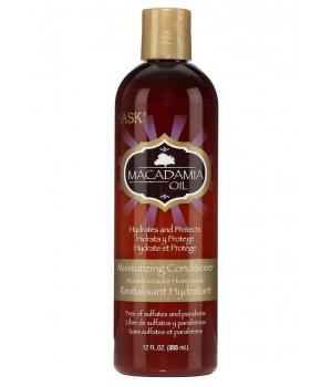 Hask Увлажняющий кондиционер для волос с маслом макадамии 355 мл