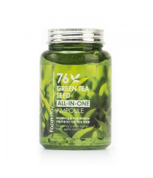 Farmstay Сыворотка с экстрактом зеленого чая 76 Green Tea Seed All-in-One Ampoule 250 мл