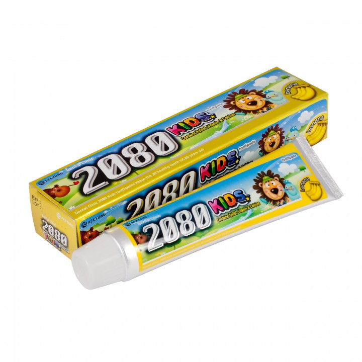 "Dental Clinic 2080 KIDS Детская зубная паста ""Банан"" 80 мл"