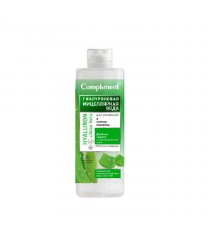 "Compliment Гиалуроновая мицеллярная вода для умывания и снятия макияжа ""Hyaluron +Aloe Vera"" 500 мл"