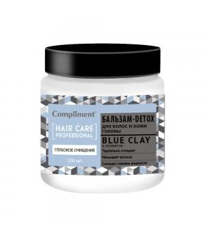 """Compliment Hair Care Professional Бальзам-Detox для волос и кожи головы """"Глубокое очищение"""" 500 мл"""