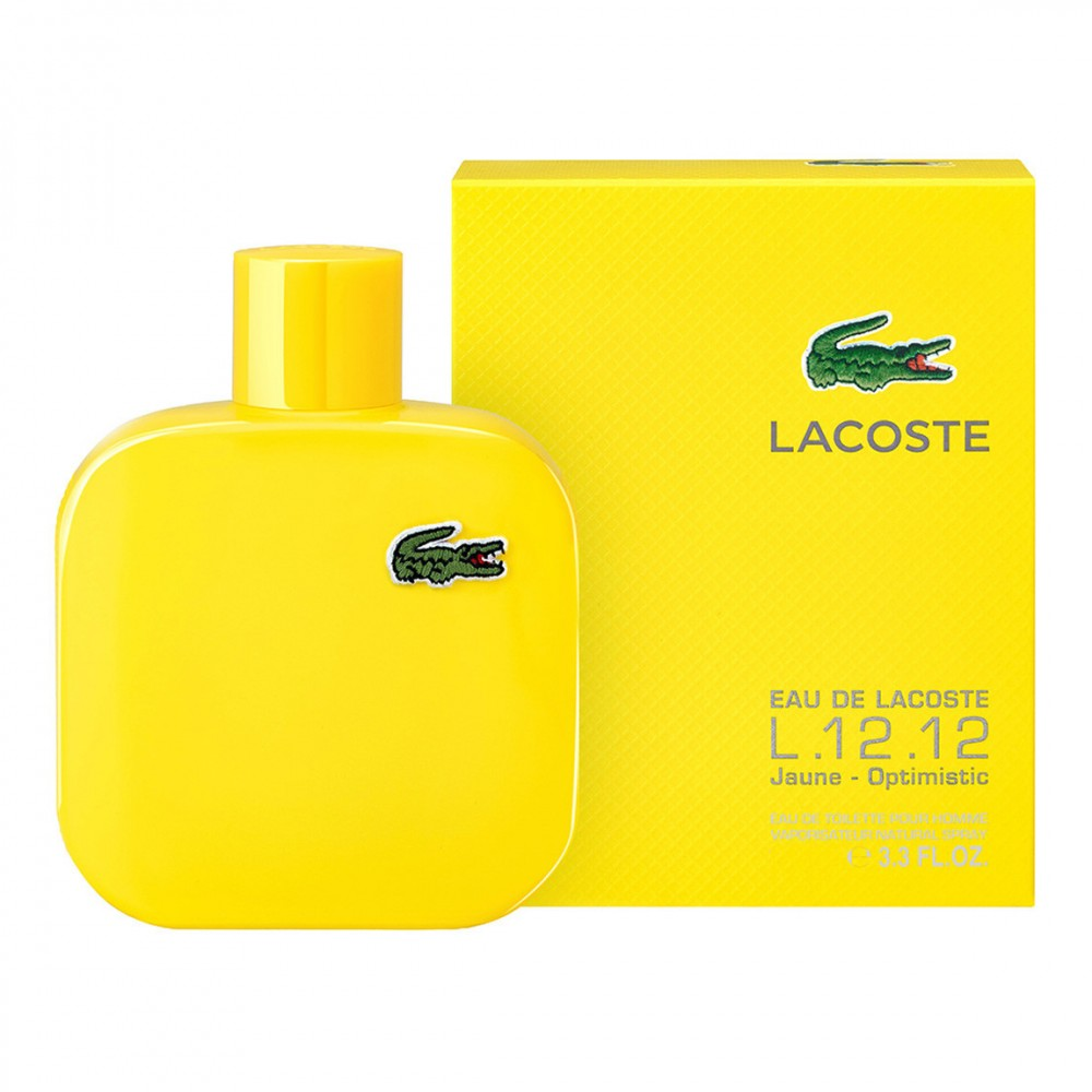 Lacoste Eau de Lacoste Yellow (Jaune) (M) 50ml edt