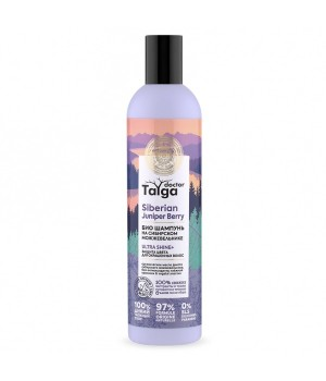 Natura Siberica Doctor Taiga Био шампунь защита цвета для окрашенных волос 400 мл