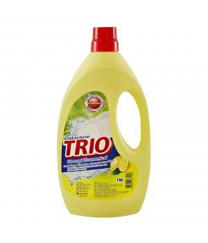 """Trio Средство для мытья посуды """"Антибактериальное"""" 1000 мл"""