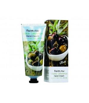 Farmstay Крем для рук с экстрактом оливы Olive Intensive Moisture Hand and Nail Cream 100 мл