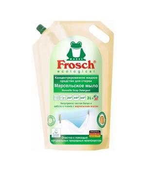 """Frosch Концентрированное жидкое средство для стирки """"Марсельское мыло"""" 2000 мл"""