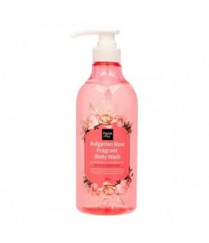 Farmstay Парфюмированный гель для душа с экстрактом болгарской розы Bulgarian Rose Fragrant Body Wash 750 мл