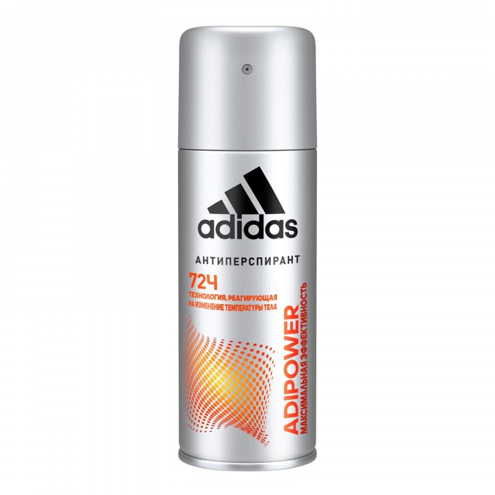 Adidas Adipower Мужской дезодорант-антиперспирант спрей 72 часа 150 мл