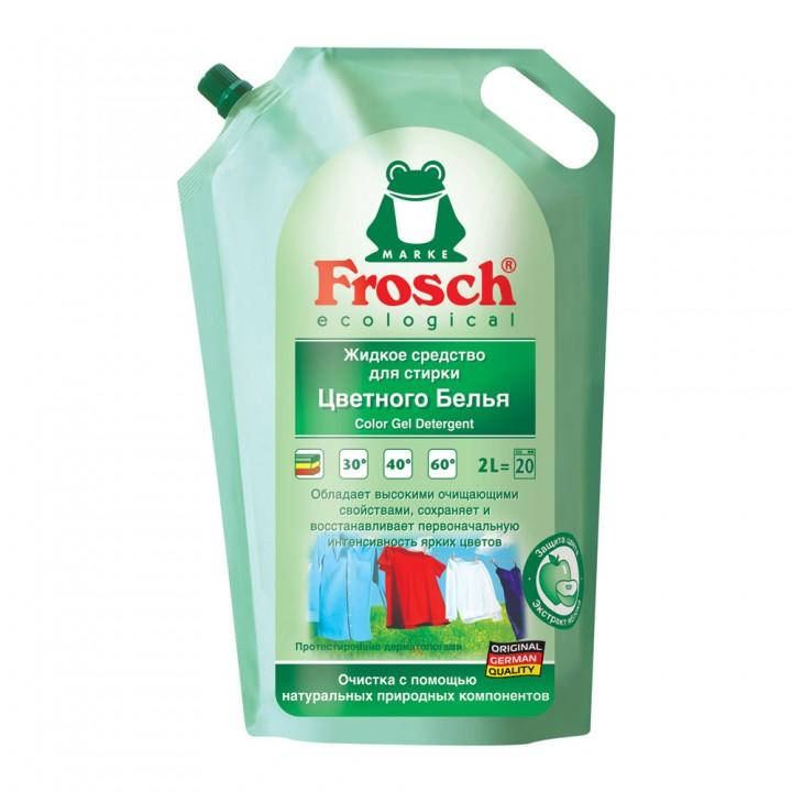 Frosch Жидкое средство для стирки цветного белья 2000 мл