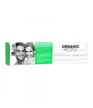 "Organic People Зубная паста ""Extra White"" 100 мл"
