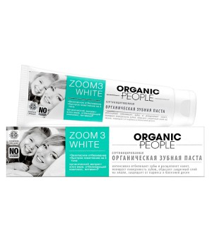 "Organic People Зубная паста ""Zoom 3 White"" 100 мл"