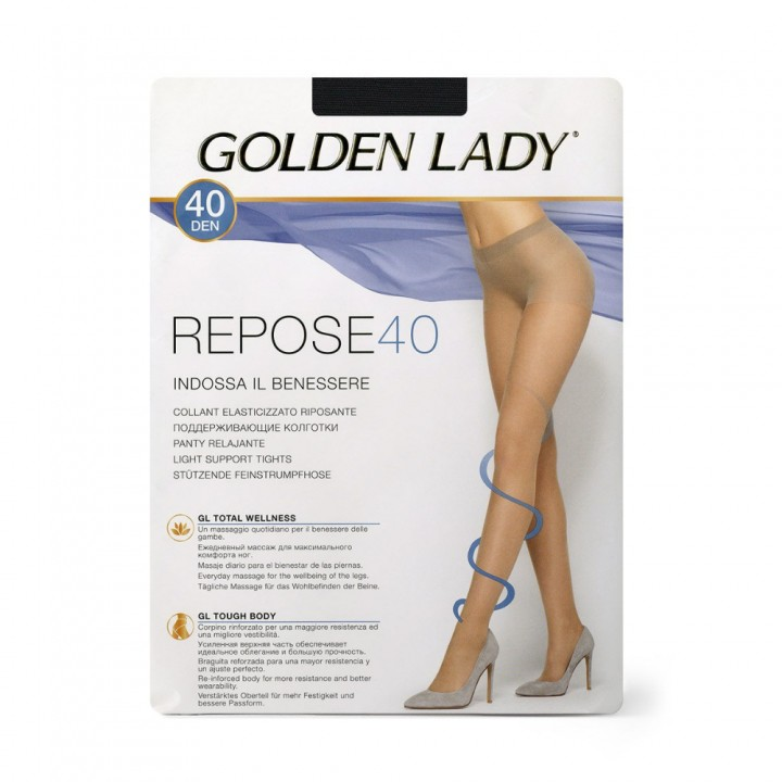Golden Lady Колготки Repose 40 Visone 3