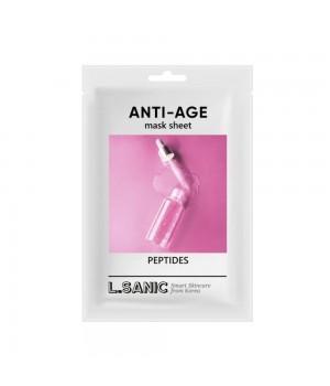L.Sanic Антивозрастная тканевая маска с пептидами 25 мл