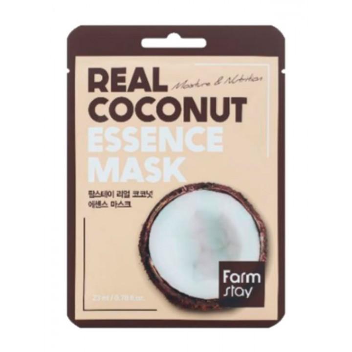Farmstay Тканевая маска с экстрактом кокоса Real Coconut Essence Mask 23 мл