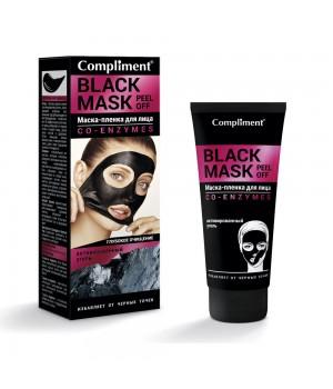 "Compliment Black Mask Маска-пленка для лица ""Co-Enzymes"" 80 мл"