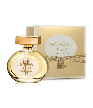 Antonio Banderas Her Golden Secret W edt 80 ml