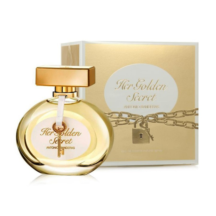 Antonio Banderas Her Golden Secret W edt 80 ml