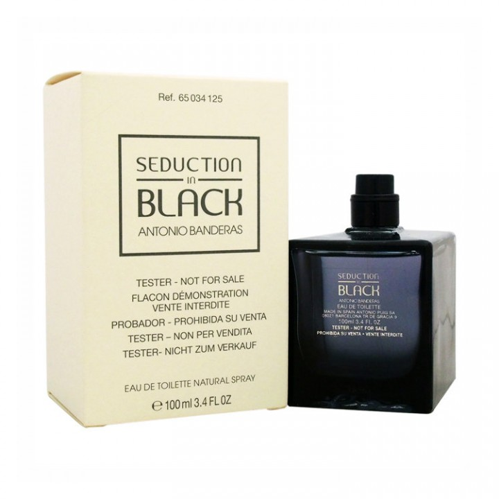 Antonio Banderas Seduction in Black M edt 100 ml тестер