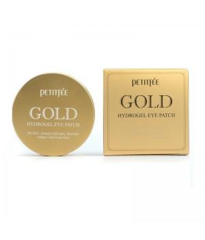 Petitfee Патчи для век гидрогелевые с золотом Gold Hydrogel Eye Patch 60 шт