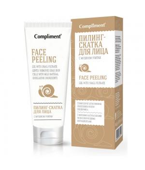 Тимекс Compliment Пилинг-скатка для лица с муцином улитки 80 мл