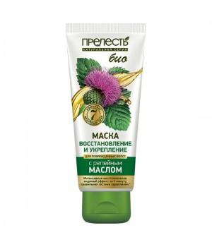 Прелесть Bio Маска для поврежденных волос Восстановление и укрепление 250 мл