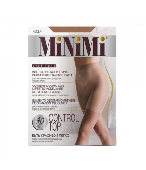 Minimi Control top 40/140 (утяжка- шорты) Caramello 4