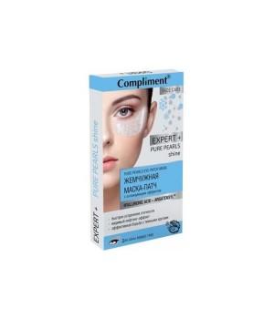 Compliment Expert+ Жемчужная маска-патч с охлаждающим эффектом 4 шт