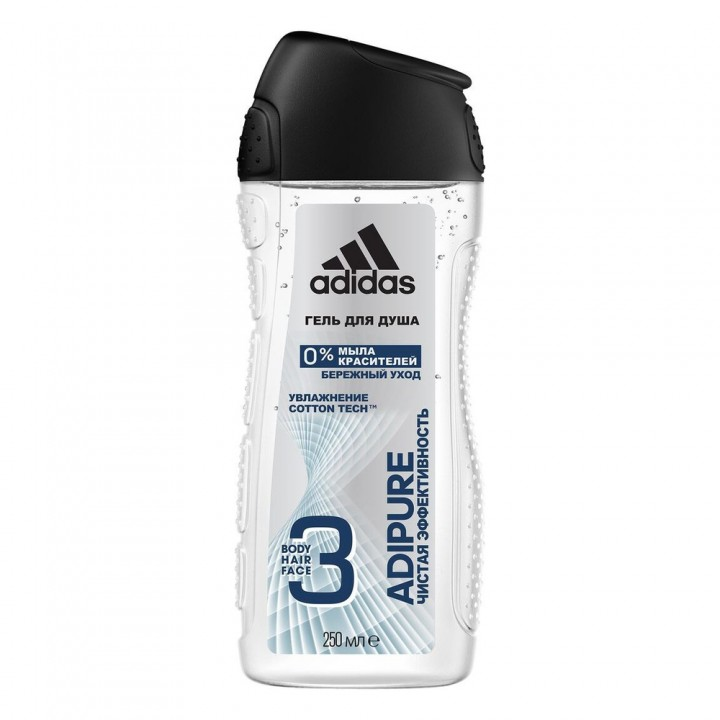 Adidas Adipure Мужской гель для душа 250 мл