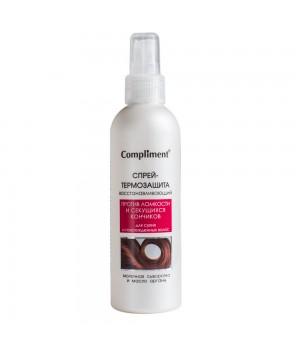 Compliment Спрей-термозащита для волос восстанавливающий 200 мл
