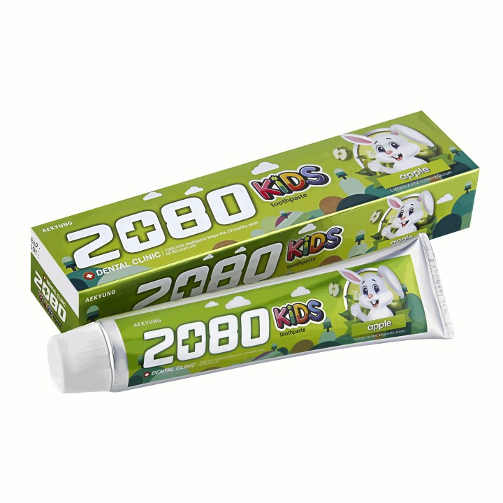 "Dental Clinic 2080 KIDS Детская зубная паста ""Яблоко"" 80 мл"
