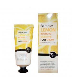 Farmstay Интенсивный увлажняющий крем для ног с лимоном Lemon Intensive Moisture Foot Cream 100 мл