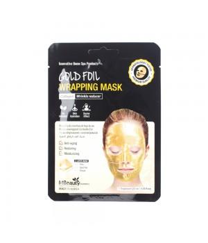 MBeauty Антивозрастная золотая фольгированная маска для лица с коллагеном 25 мл