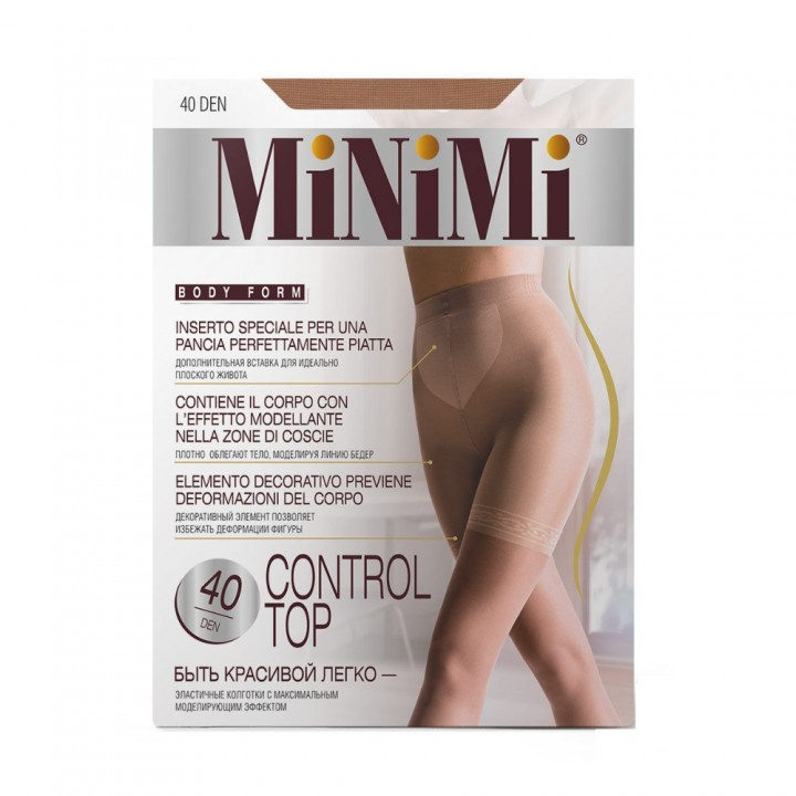 Minimi Control top 40/140 (утяжка- шорты) Daino 2