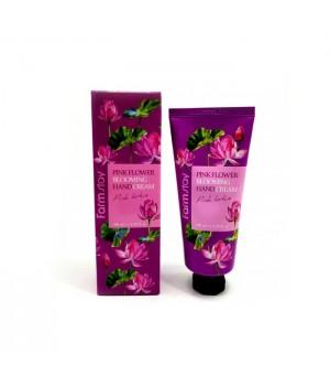 Farmstay Крем для рук с лотосом Pink Flower Blooming Hand Cream Pink Lotus 100 мл