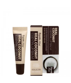 Farmstay Бальзам для губ с экстрактом кокоса Real Coconut Essential Lip Balm 10 мл