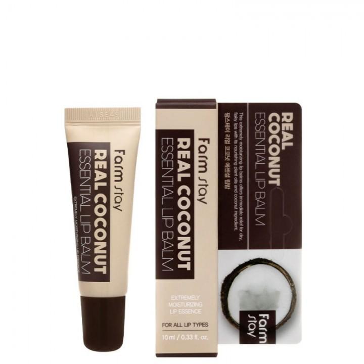 Farmstay Бальзам для губ с экстрактом кокоса Real Coconut Essential Lip Balm 10 мл
