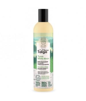 Natura Siberica Doctor Taiga Био бальзам для супер свежести и объёма волос 400 мл