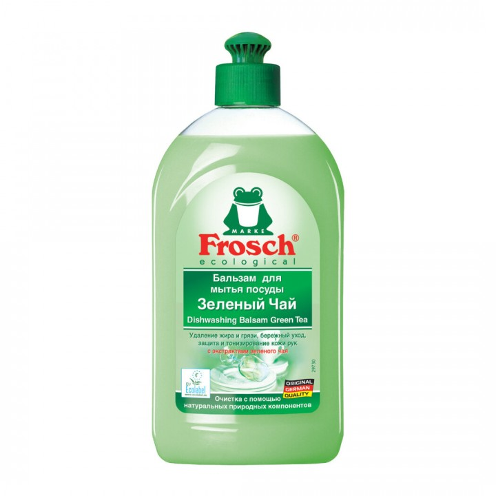 "Frosch Бальзам для мытья посуды ""Зеленый чай"" 500 мл"