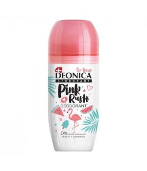 Deonica For Teens Дезодорант-ролик Pink Rush 50 мл