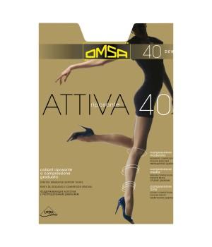 Omsa Колготки Attiva 40 Nero 5 (XL)