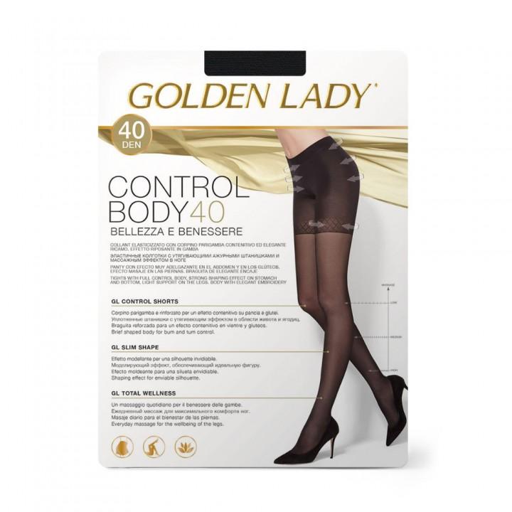 Golden Lady Колготки Control Body 40 Nero 5