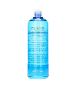 Farmstay Мультиувлажняющий тонер для лица с коллагеном Collagen Water Full Moist Toner 500 мл