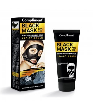 "Compliment Black Mask Маска-пленка для лица ""Pro-Collagen"" 80 мл"