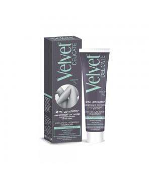 Velvet Delicate Крем-депилятор замедляющий рост волос и предотвращающий их врастание 100 мл