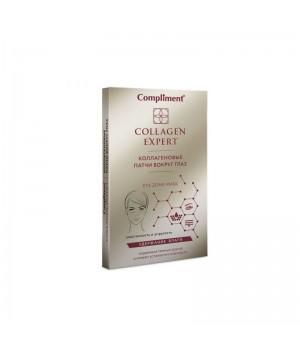 Compliment Collagen Expert Коллагеновые патчи вокруг глаз 4 шт