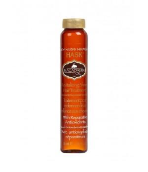 HASK 32376A Масло для увлажнения волос с экстрактом Макадамии, 18 мл