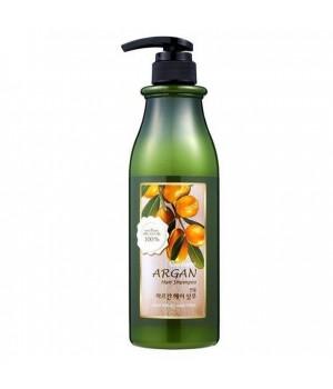 Welcos Confume Argan Hair Shampoo Шампунь для волос с маслом арганы 750 мл