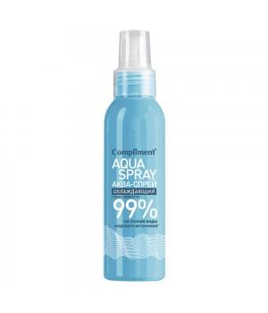 Compliment Аква-спрей охлаждающий для лица и тела 200 мл