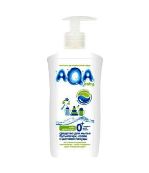 AQA baby Средство для мытья бутылочек, сосок и детской посуды 500 мл (18153)