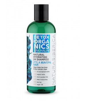Natura Siberica Detox Organics Sakhalin Шампунь для волос Увлажняющий 270 мл